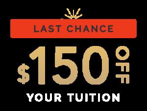 Last Chance - 150 off