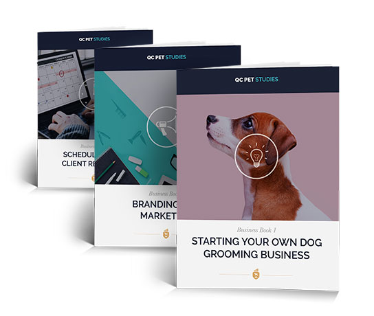 3 Dog Grooming Business Books